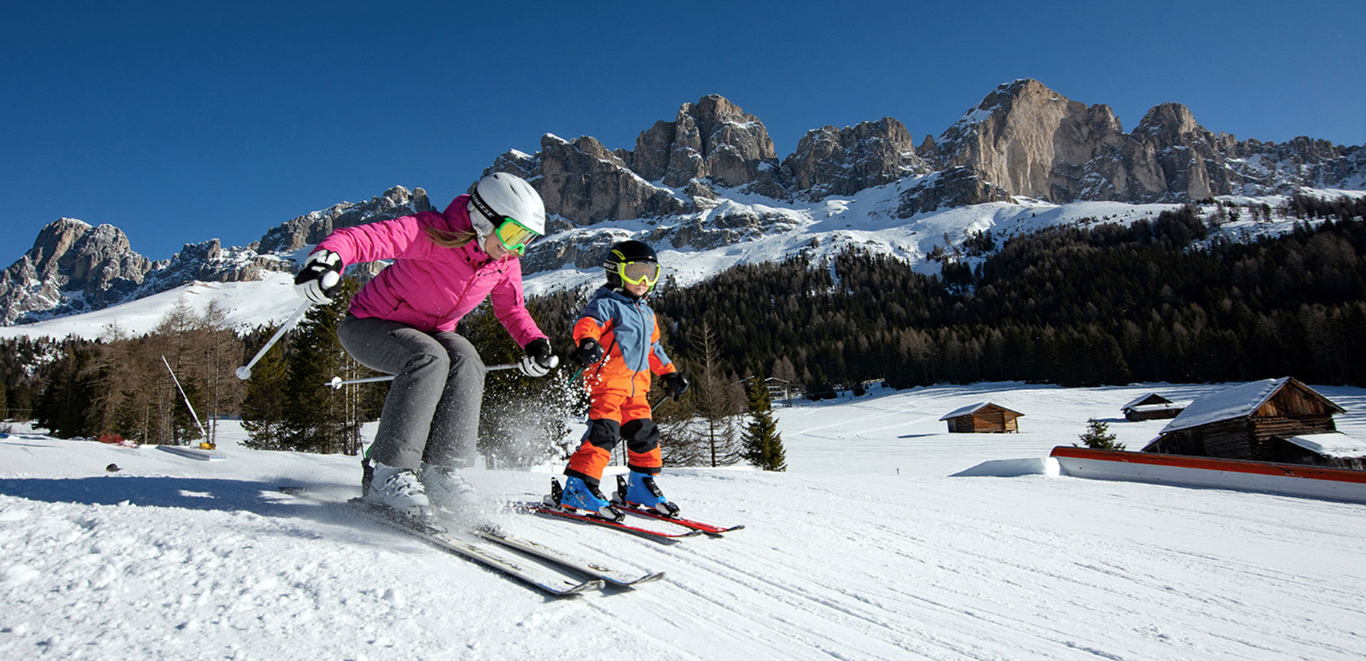Ski Resort Carezza  in the Dolomites
